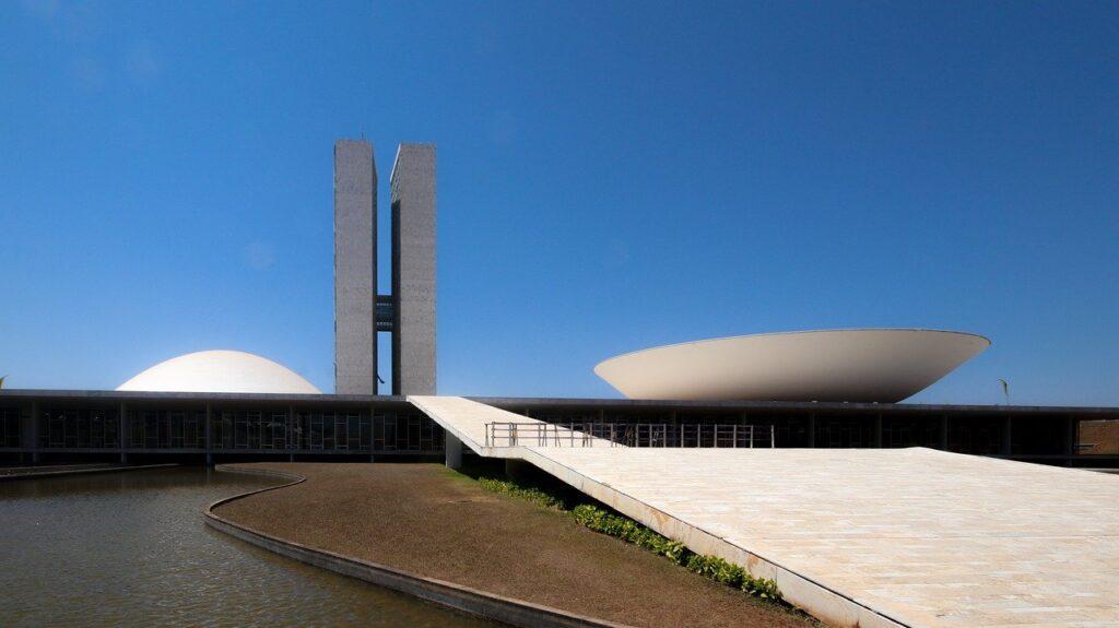 national congress, brasilia, building
