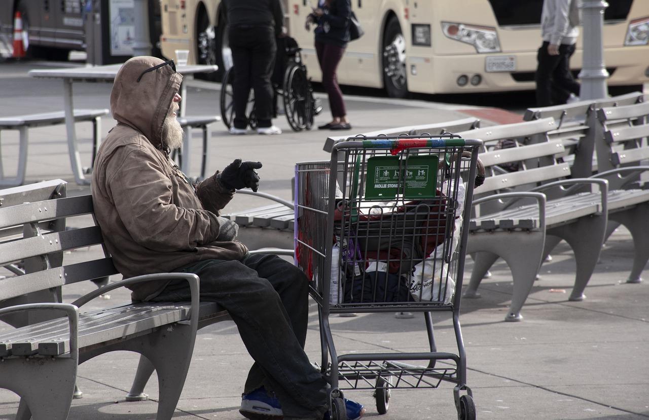people, homeless, usa